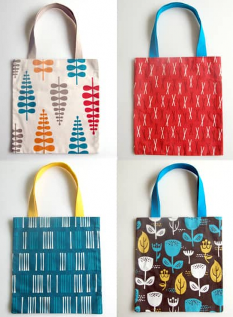 Easy Sewing Project Bags