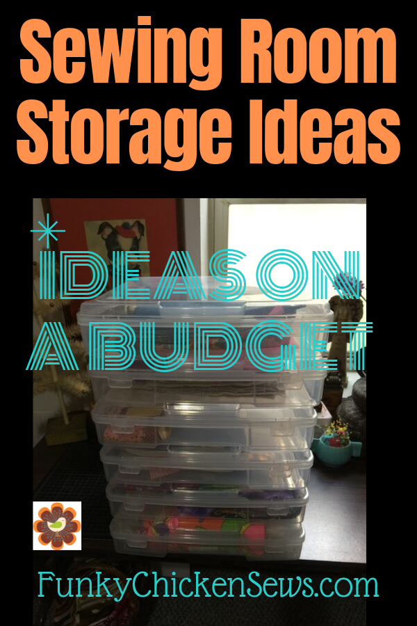 Sewing Room Storage Ideas On A Budget