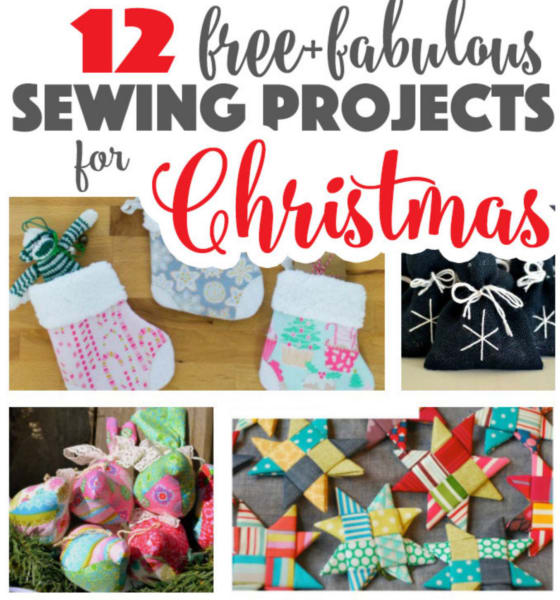 12 Free Sewing Projects For Christmas