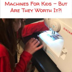 5 Singer sewing machines for kids
