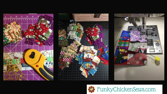 Christmas Stocking sewing Project