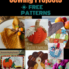 Thanksgiving Sewing Projects Free Patterns