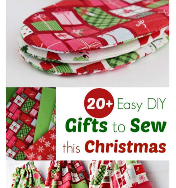 Easy DIY Gifts to sew This Christmas