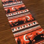 Easy Halloween Table Runner Sewing Project