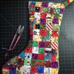 Funky Christmas Stocking Sewing Project