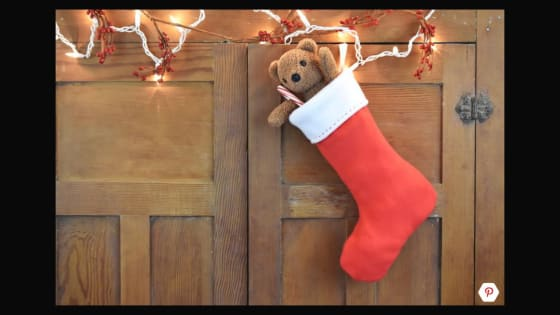 Free Pattern and Directions Christmas Fleece Stocking