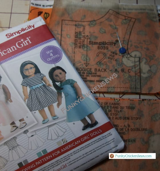 How To Make American Girl Doll Clothes with Sewing Machine easy