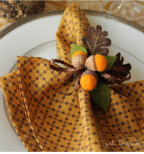 How To Sew Thanksgiving Dinner Napkins