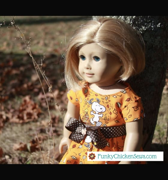 How to make American Girl Doll Clothes Diy Simple Dresses