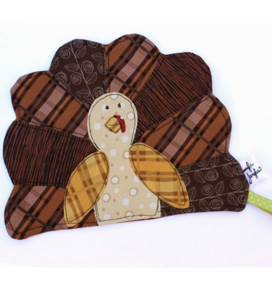 Thanksgiving Sewing Project Turkey Pot Holder
